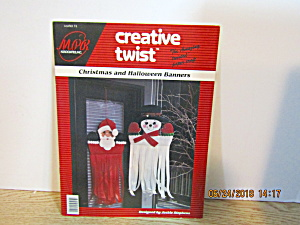 Creative Twist Craft Book Christmas & Halloween Banners