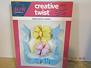 Creative Twist Paper Craft Book Bows With A Twist