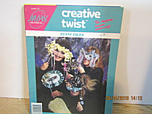 Creative Twist Paper Craft Book Funny Face