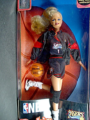 Nba Barbie 76ers