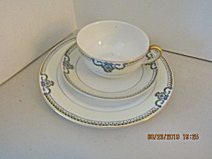 Vintage Noritake Hand Painted Beaumont Snack/lunch Set
