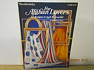Needleworks Book For Afghan Lovers #108