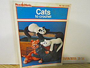 Needleworks Book Cats To Crochet #120