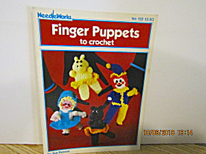 Needleworks Book Finger Puppets To Crochet #122