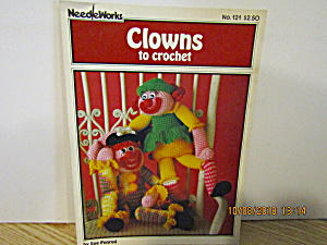 Needleworks Book Clowns To Crochet #121