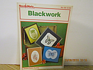Needleworks Book Blackwork #124