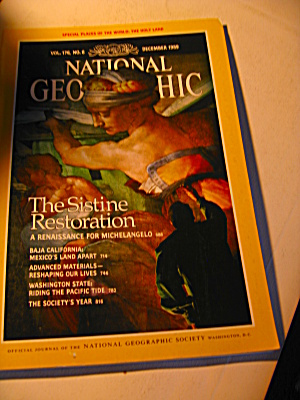 Vintage National Geographic Magazine December 1989