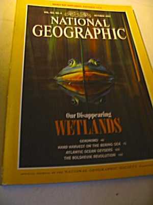Vintage National Geographic Magazine October 1992