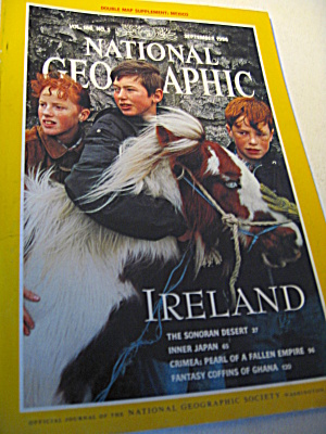 Vintage National Geographic Magazine September 1994