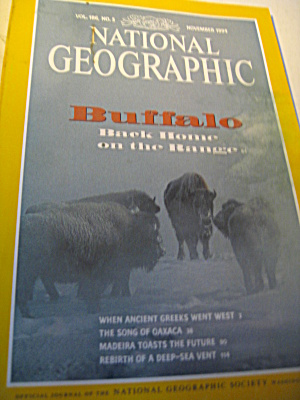 Vintage National Geographic Magazine November 1994