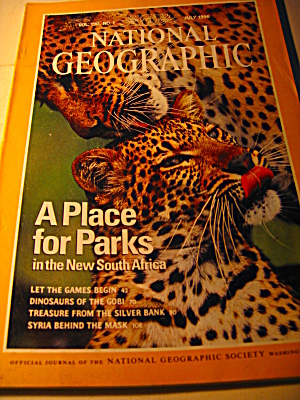 Vintage National Geographic Magazine July 1996 (Image1)