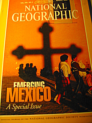 Vintage National Geographic Magazine August 1996