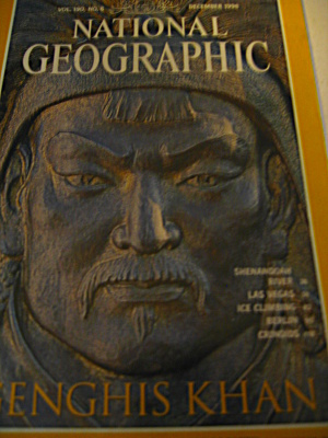 Vintage National Geographic Magazine December 1996