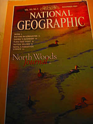 Vintage National Geographic Magazine November 1997