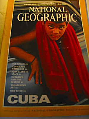 Vintage National Geographic Magazine June1999.