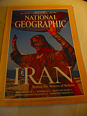 Vintage National Geographic Magazine July 1999