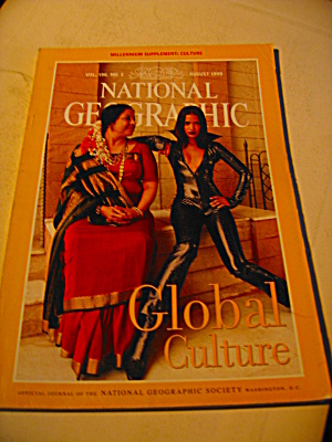 Vintage National Geographic Magazine August 1999