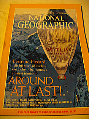 Vintage National Geographic Magazine September 1999