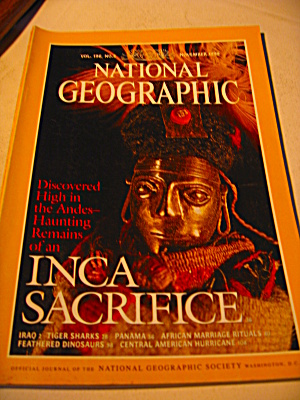 Vintage National Geographic Magazine 2 November 1999