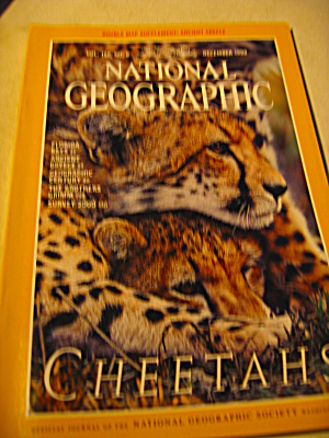 Vintage National Geographic Magazine December 1999