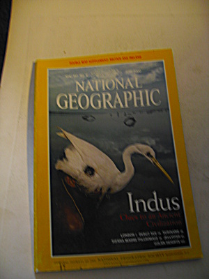 Vintage National Geographic Magazine June 2000