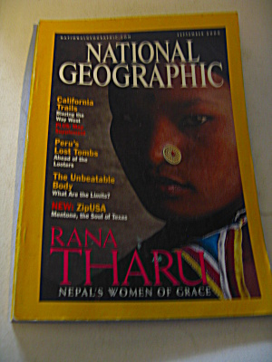 National Geographic Magazine September 2000