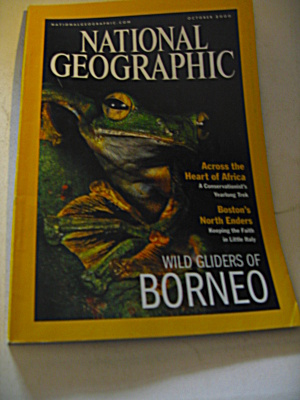 National Geographic Magazine October 2000