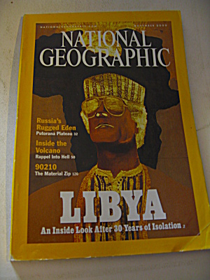 National Geographic Magazine November 2000