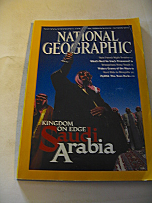 National Geographic Magazine October 2003