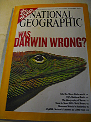 National Geographic Magazine November 2004.