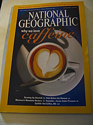 National Geographic Magazine January 2005