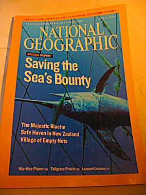 National Geographic Magazine April 2007.
