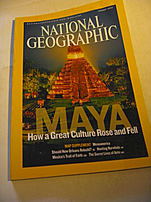 National Geographic Magazine August 2007 Ii