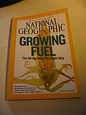 National Geographic Magazine October 2007