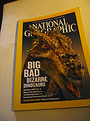 National Geographic Magazine December 2007