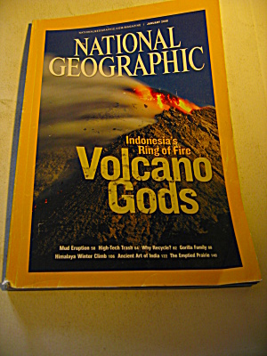 National Geographic Magazine January 2008