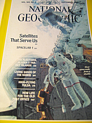 Vintage National Geographic Magazine September 1983.