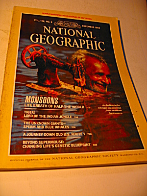 Vintage National Geographic Magazine December 1984.