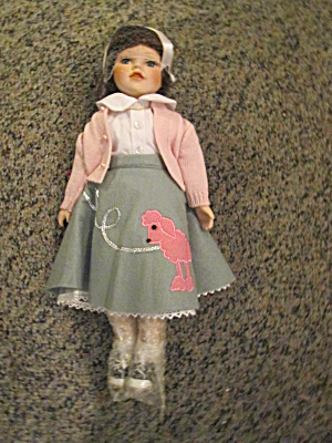 New Heritage Katie The Porcelain Poodle Skirt Doll