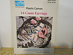 Nifty Publishing Plastic Canvas 14-count Earrings #551