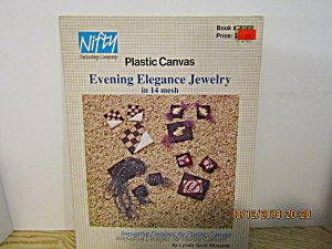Nifty Plastic Canvas Evening Elegance Jewelry #859