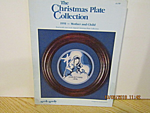 Nordicneedle Plate Collection Mother&child 1991 #143