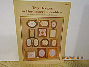 Nordicneedle Tray Designs In Hardanger Embroidery #148