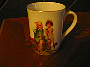 "Norman Rockwell Classic Mug ""the Cobbler"""