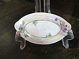 Vintage Noritake Nippon Oval Hand Painted Tray