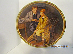 Rockwell's Eleventh Rediscovered Women Plate Confiding