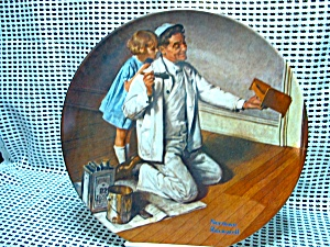 Rockwell's Seventh Heritage Series Plate The Painter