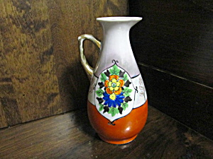 Vintage Japan Luster Oil/vinegar Cruet