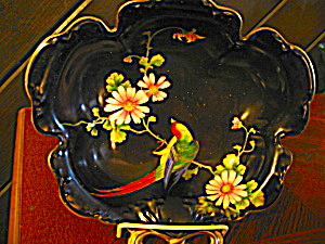 Vintage Noritake Handpainted One Handled Serving Dish (Image1)