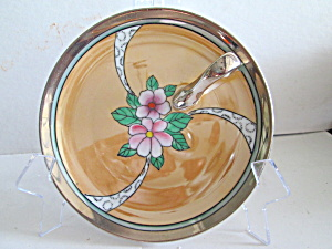 Vintage Noritake Handpainted One Handled Lemon Dish